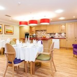 A bright environment designed for people with dementia